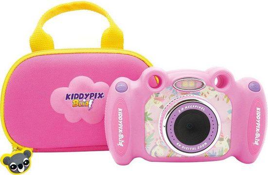 Easypix »Kiddypix Blizz Pink« Kinderkamera (vordere Linse für Fotos und Videos, hintere Linse für Selfies, 2 MP)