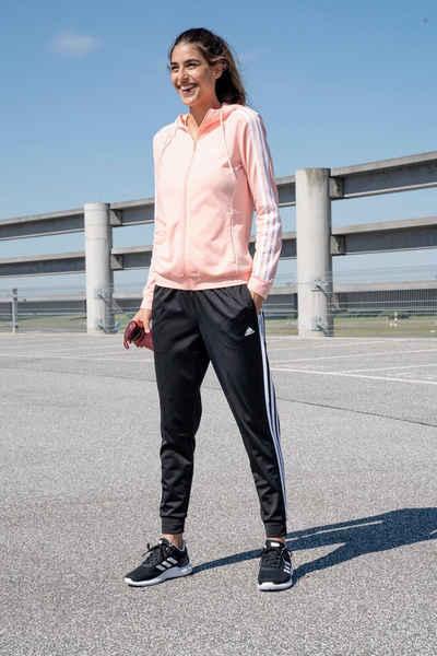 Adidas AY1819|Polyester Frauen Athletics Trainingsanzüge