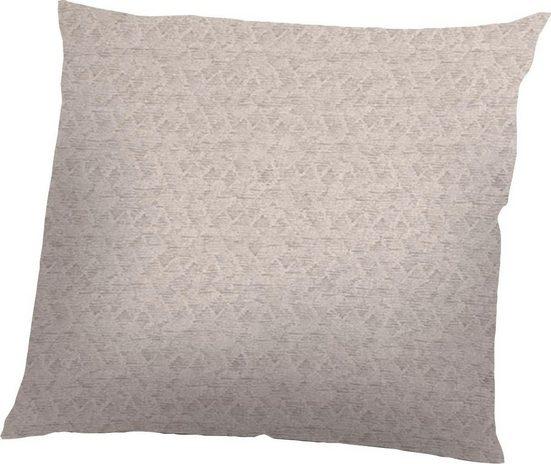 Kissenbezug »Donegal«, Schlafgut (1 Stück), Mix & Match, aus zertifizierter Bio-Baumwolle