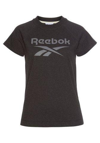 REEBOK Marškinėliai »TE TEXTURE LOGO TEE«