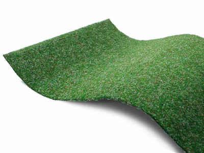Kunstrasen »GREEN«, Primaflor-Ideen in Textil, rechteckig, Höhe 7,5 mm, Rasenteppich, grün, mit Noppen, strapazierfähig, witterungsbeständig, In- und Outdoor geeignet