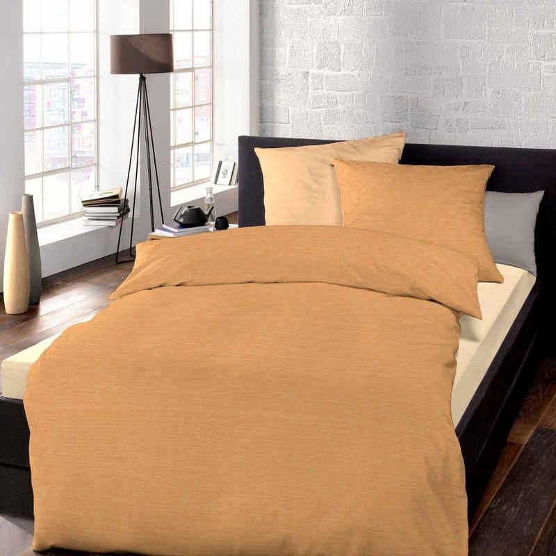 Bettwäsche »Mako-Satin«, Schlafgut, mit zartem Seidenglanz