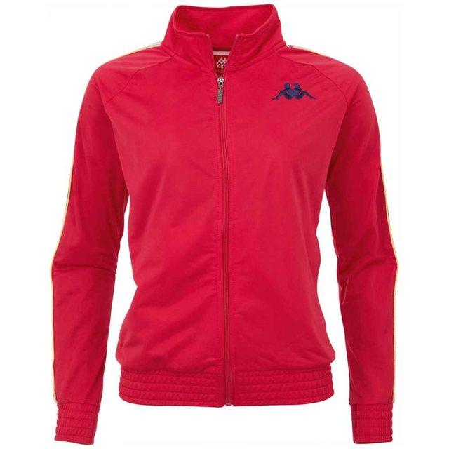 Kappa Trainingsjacke »AUTHETNIC VALMIRA« mit mehrfarbigem Logoband an den Ärmeln | Sportbekleidung > Sportjacken > Trainingsjacken | Kappa