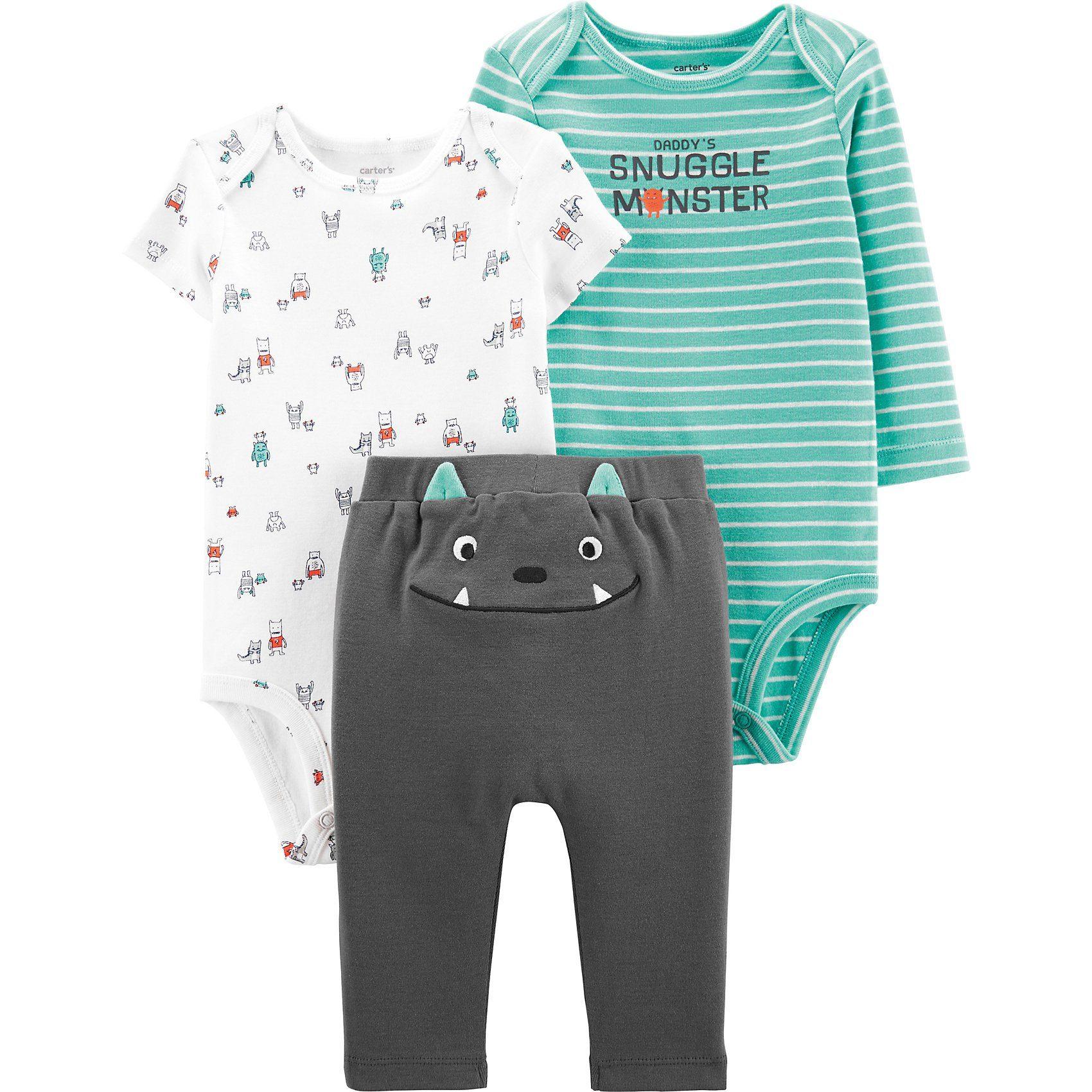 Baby Bekleidungsset mit Monster-Design