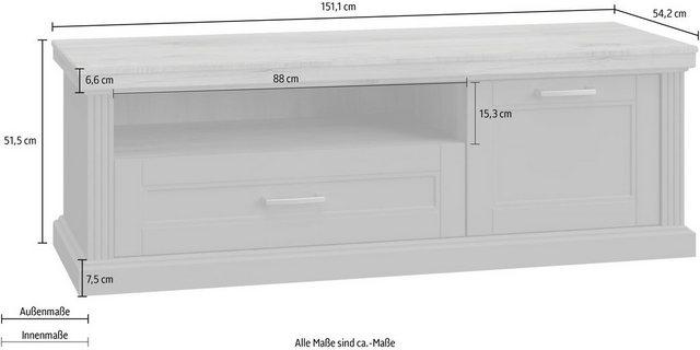 TV Möbel - DELAVITA TV Board »Tara«, Fernsehtisch, UV Lack für hohe Farbbrillianz, Lowboard mit Soft Close Funktion  - Onlineshop OTTO