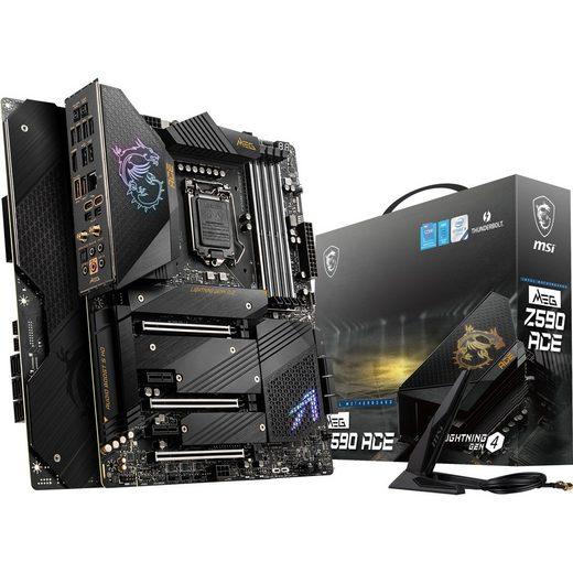 MSI »MEG Z590 ACE« Mainboard Mystic Light