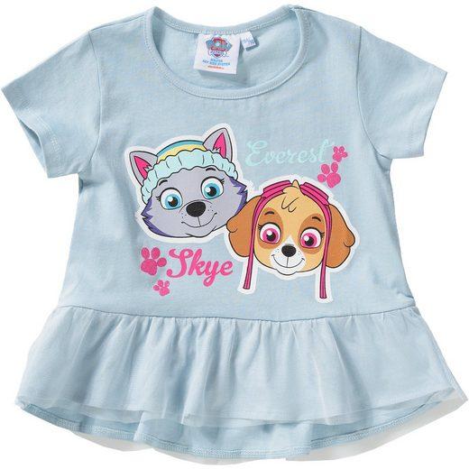 PAW Patrol T-Shirt mit Tüllvolant für Mädchen