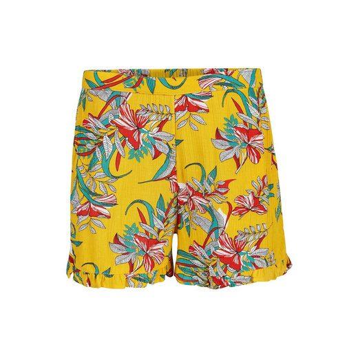 WE Fashion Jerseyshorts RUFFLE für Mädchen