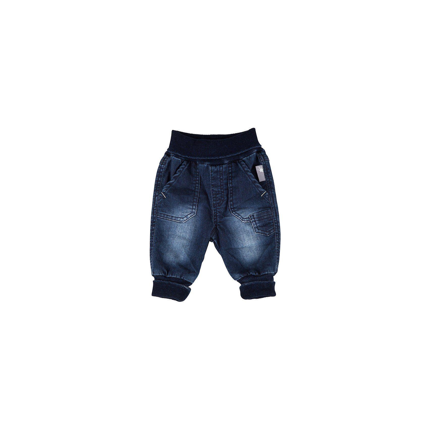 Sigikid Hose Jeanshose Schlupfhose Denim gefüttert Baumwolle Jungen Baby Gr.74