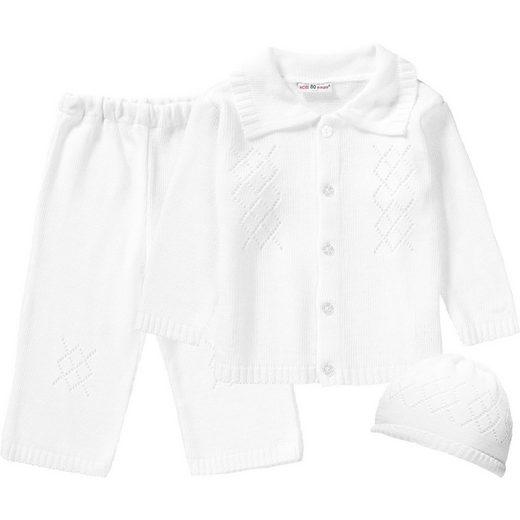 HOBEA-Germany HOBEA Set Baby Taufanzug Noah + Mütze für Jungen
