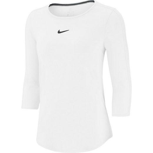 Nike Tennisshirt »W NKCT TOP 3QT«
