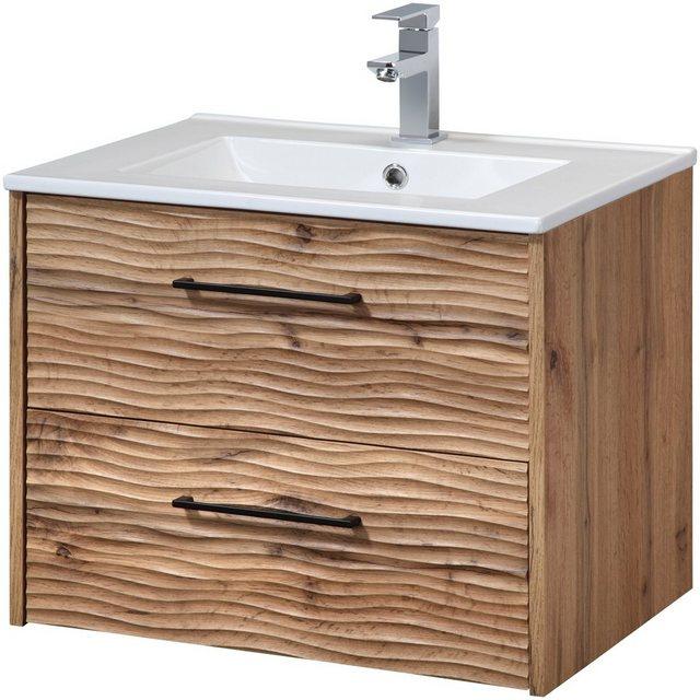 Waschtische - WELLTIME Waschplatz Set »Canada«, Waschtisch, Breite 60 cm, 2 tlg.  - Onlineshop OTTO