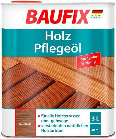 BAUFIX Holzschutz-Lasur »Nussbaum«, Pflegeöl