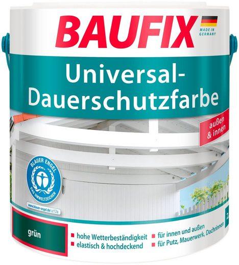 BAUFIX Acryl Buntlack »Universal-Dauerschutzfarbe«, flaschengrün, 2,5 L
