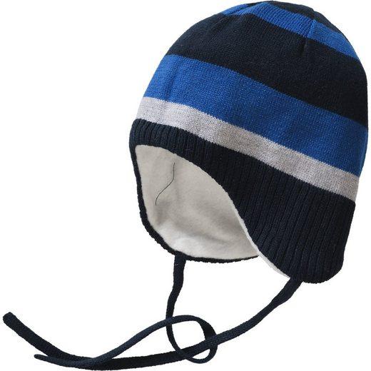 Sterntaler® Baby Mütze zum Binden für Jungen