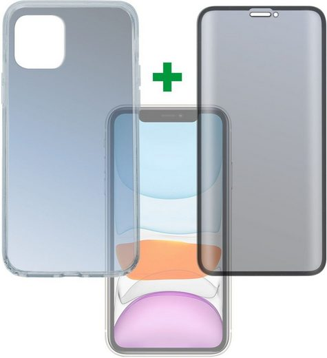 4smarts Smartphone-Hülle »360° Premium Protection Set Apple iPhone 11« iPhone 11, Cover