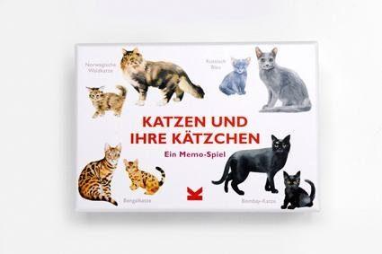 Laurence King Spiel, »Memo, Katzen und ihre Kätzchen«