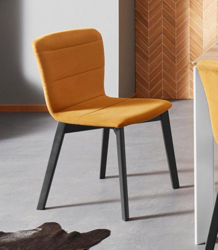 Places Of Style Stuhl Flo Mit Schönem Webstoff Bezug Und