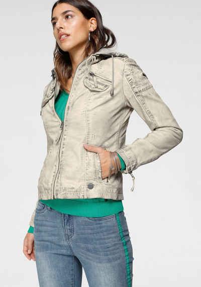 schnell verkaufend neuer Stil & Luxus Straßenpreis Damen Bikerjacken kaufen » Lässige Biker Lederjacken | OTTO