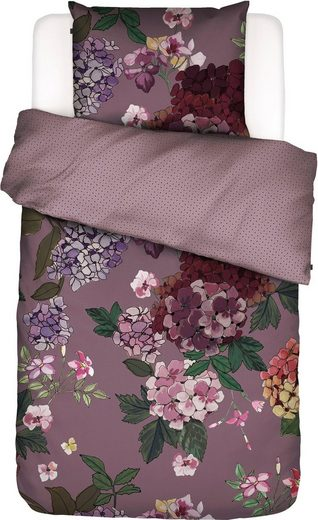 Wendebettwäsche »Diana«, Essenza, im femininen Blüten-Design