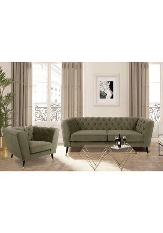 LEONIQUE Trivietė sofa »Sheffield«