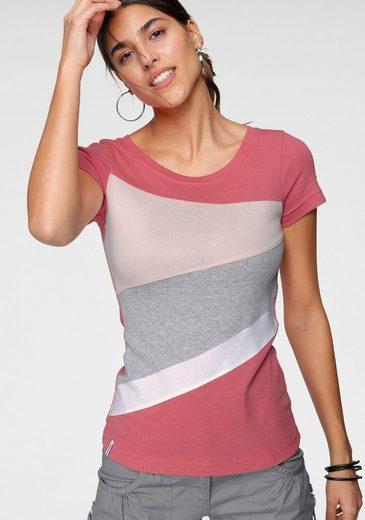 KangaROOS T-Shirt mit Colorblocking-Design