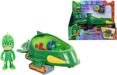 SIMBA Spielzeug-Auto »PJ Masks, Gecko mit Geckomobil«