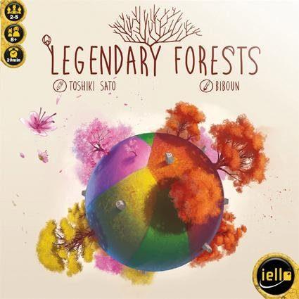 iello Spiel, »Legendary Forests«