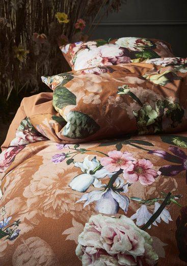 Wendebettwäsche »Fleurel«, Essenza, im üppigen Blumendesign