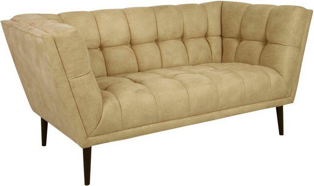 Sofas - INOSIGN 2 Sitzer »Windsor«, wunderschönes Design in 4 Bezugsqualitäten, hochwertige Schale mit Steppung  - Onlineshop OTTO