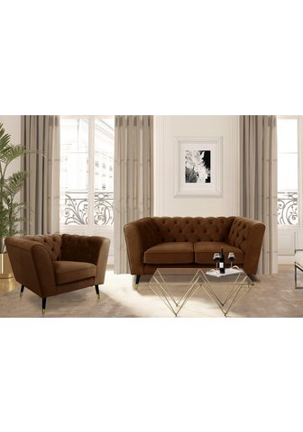 LEONIQUE Dvivietė sofa »Sheffield«