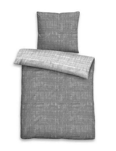 Bettwäsche »Annika«, Castell, mit kurzen Strichen