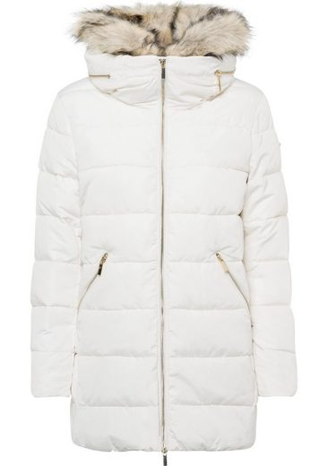 Esprit Collection Steppjacke mit abnehmbaren Fellimitat
