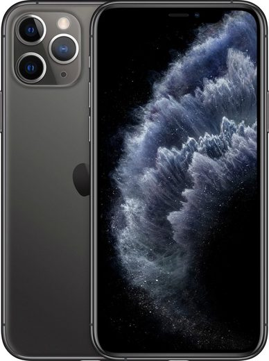 Apple iPhone 11 Pro Smartphone (14,7 cm/5,8 Zoll, 512 GB Speicherplatz, 12 MP Kamera, inkl. Lightning Kabel und Earpods)