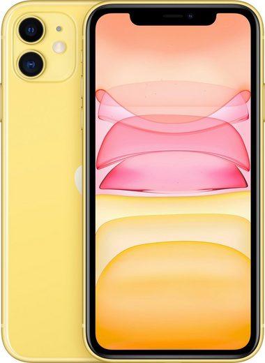 Apple iPhone 11 Smartphone (15,5 cm/6,1 Zoll, 256 GB Speicherplatz, 12 MP Kamera, inkl. Lightning Kabel und Earpods)