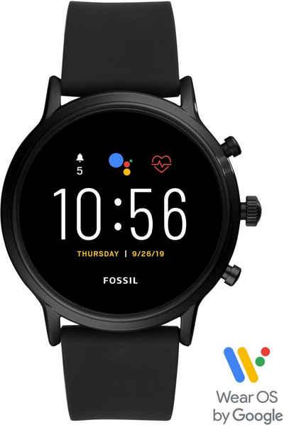 Fossil Smartwatches THE CARLYLE HR SMARTWATCH, FTW4025 Smartwatch, mit individuell einstellbarem Zifferblatt