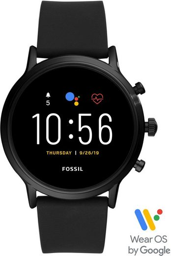 Fossil Smartwatches THE CARLYLE HR SMARTWATCH, FTW4025 Smartwatch (mit individuell einstellbarem Zifferblatt)