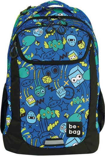 Pelikan Schulrucksack »be.bag be.active, Monster Party«