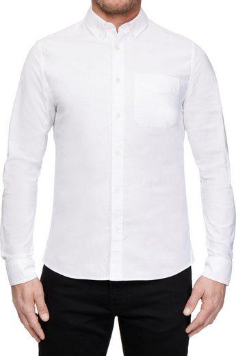 Calvin Klein Jeans Langarmhemd »OXFORD SOLID SLIM NON STRETCH«