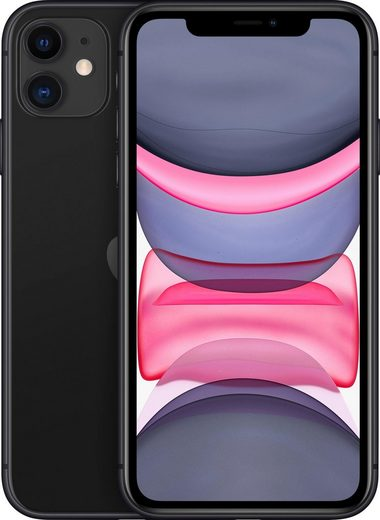 Apple iPhone 11 Smartphone (15,5 cm/6,1 Zoll, 64 GB Speicherplatz, 12 MP Kamera)