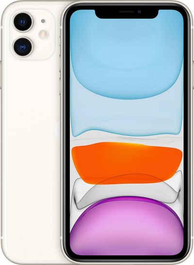 Apple iPhone 11 Smartphone (15,5 cm/6,1 Zoll, 256 GB Speicherplatz, 12 MP Kamera, ohne Strom-Adapter und Kopfhörer)
