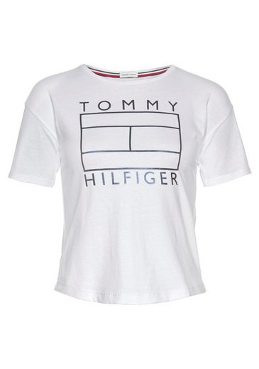 TOMMY HILFIGER T-Shirt »ESSENTIAL FOIL TEE«