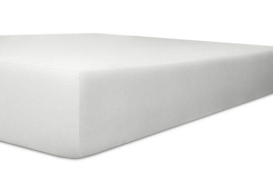Spannbettlaken »Organic-Cotton-Stretch«, Kneer, aus zertifizierter GOTS Bio-Baumwolle