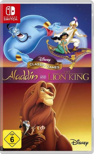 Aladdin and The Lion King Nintendo Switch