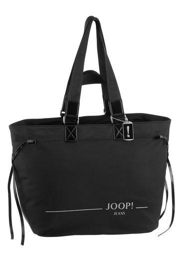 Joop Jeans Shopper »linea nylon sabine shopper xlhz«, mit modischem Logo Druck