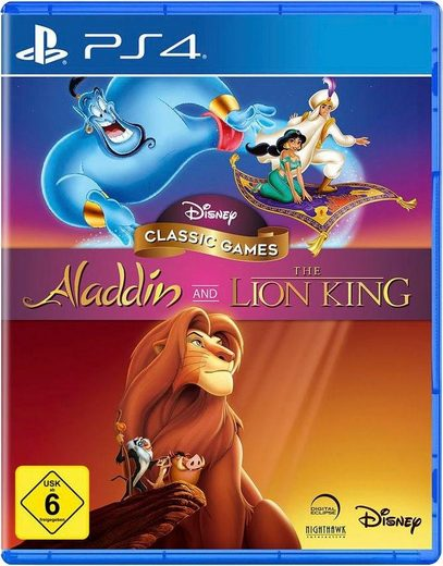 Aladdin and The Lion King PlayStation 4