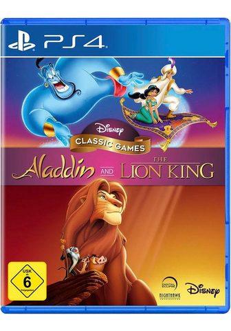 WALT DISNEY Aladdin and The Lion King PlayStation ...
