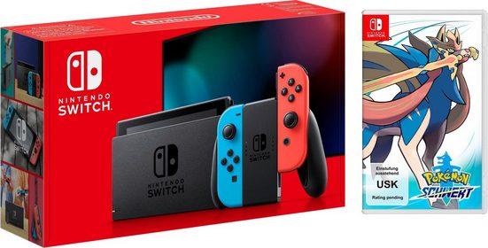 Nintendo Switch (neues Modell), inkl. Pokémon Schwert