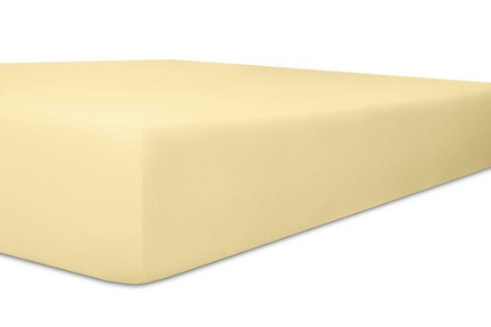 Spannbettlaken »Exclusive-Stretch«, Kneer, optimaler Sitz