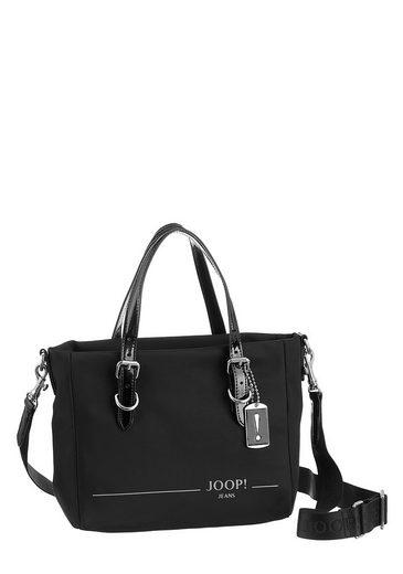 Joop Jeans Henkeltasche »linea nylon daria handbag shz«, mit dekorativen Schnallen